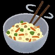 料理の「和える」のイラスト