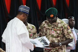 PRESIDENT BUHARI ENDORSES NIGERIA'S TERRITORIAL HONOR