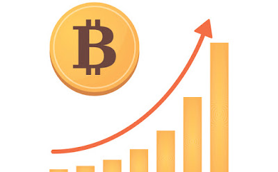 Bitcoin price increases