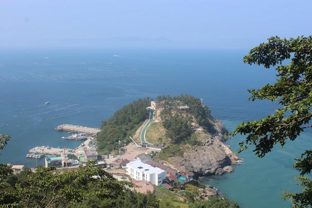 Stairway to Hyangiram Hermitage