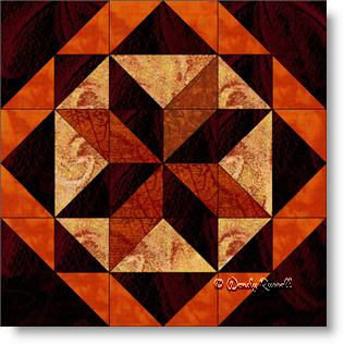 All Hallows quilt block image © Wendy Russell