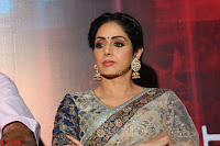 Sri Devi in designer saree stunning beauty at the launch of MOM movie Trailer~  Exclusive 106.JPG