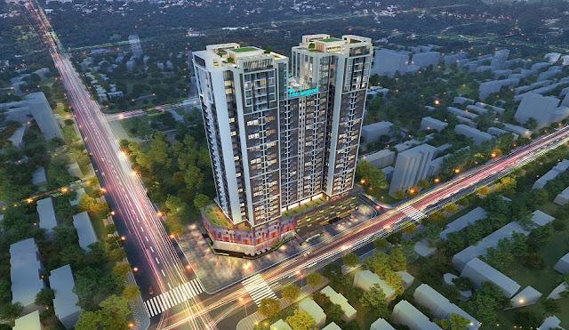 Phối cảnh dự án The Legend Tower - Nguyễn Tuân