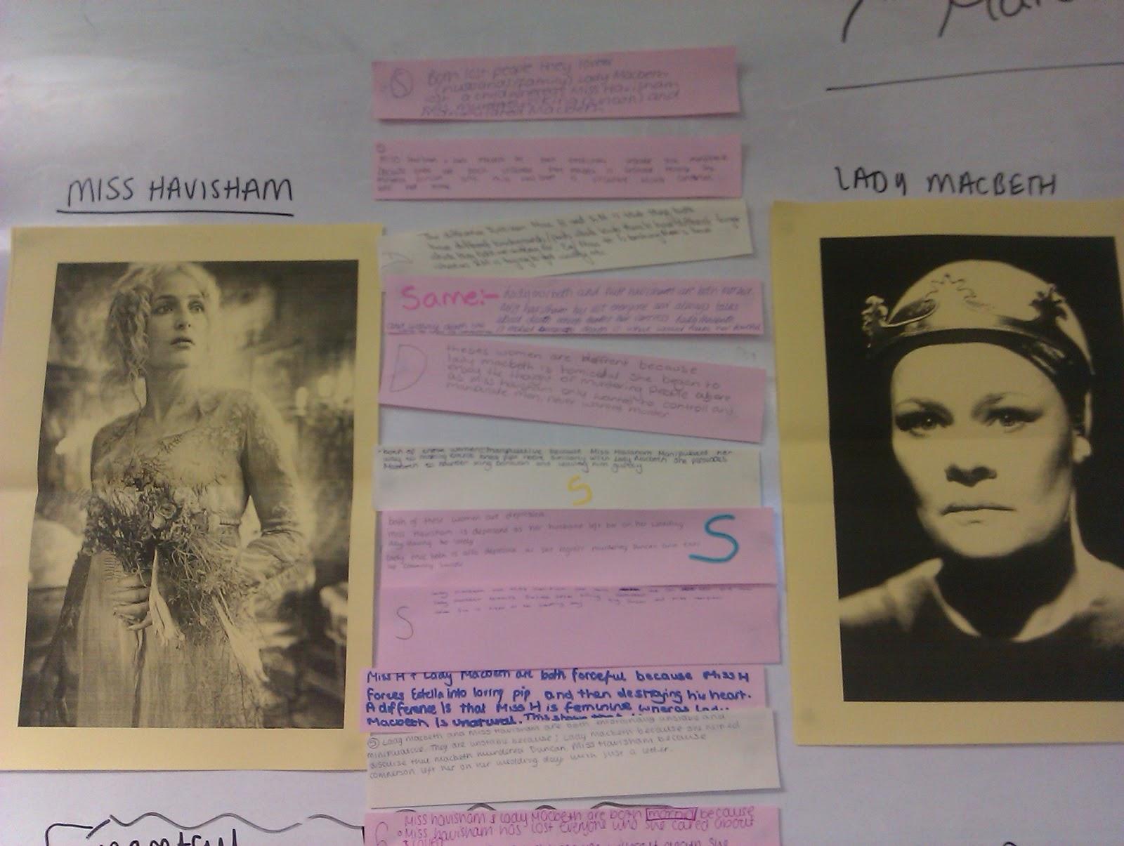 lady macbeth and miss havisham disturbed essay