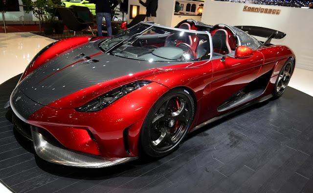 Koenigsegg regera 2017