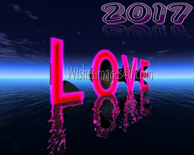 New Year 2017 Full HD Love Romantic Greetings Pics Download