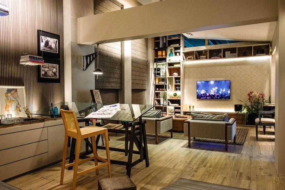 Sala Pequena Com Home Office ~  Casa Clean 20 Home Office Pequenos na Sala  Veja Dicas e Modelos