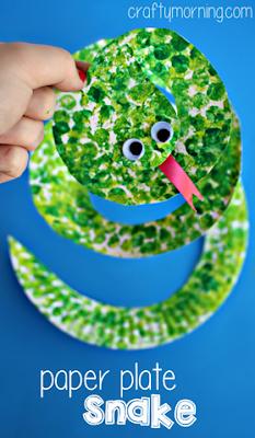 rolling-pin-snake-craft-for-kids