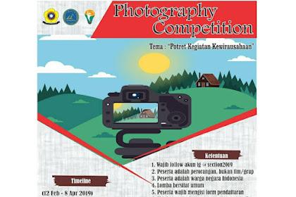 Lomba Fotografi Sriwijaya Entrepreneur 2019 Umum
