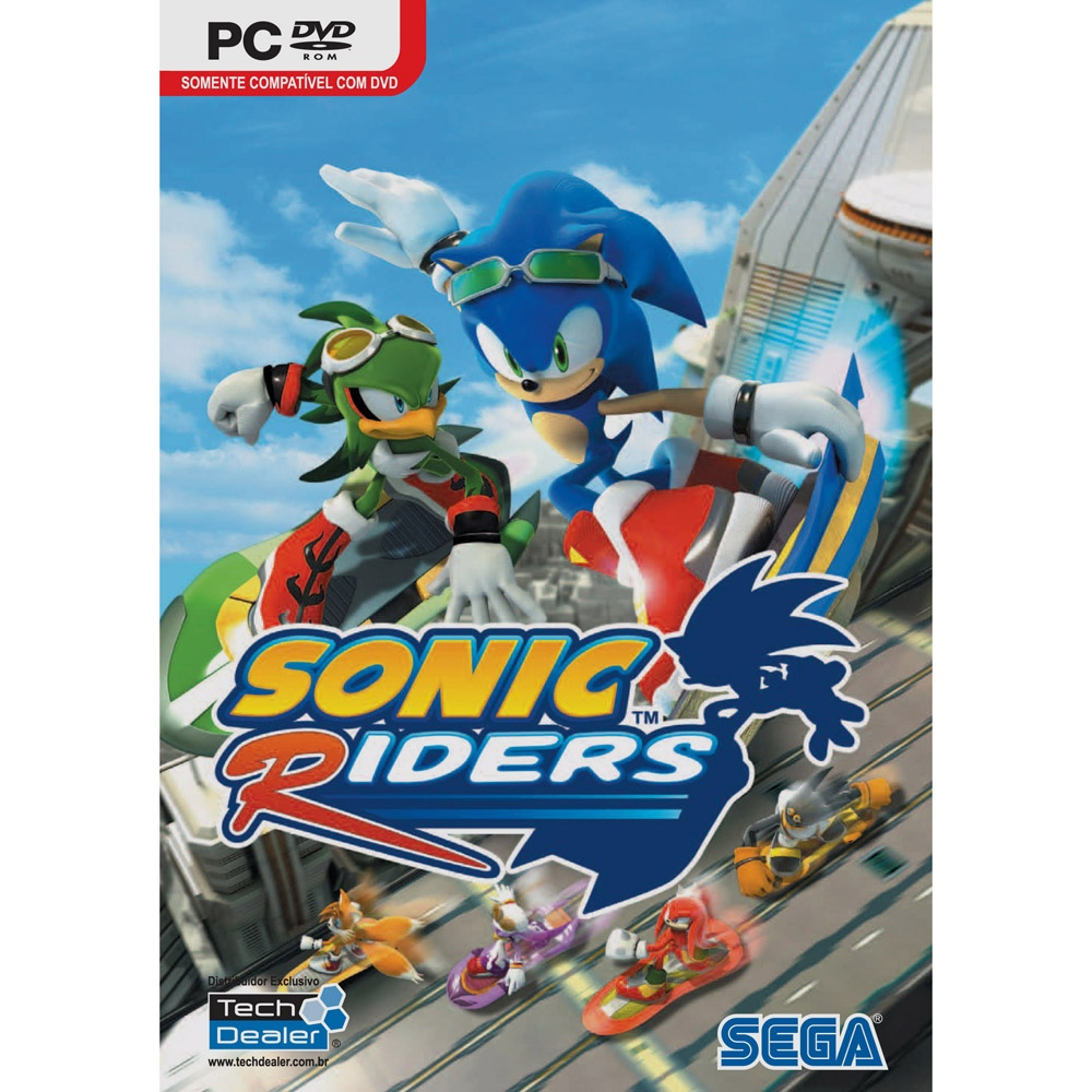 Sonic riders for gamers - Jeu info sonic ...