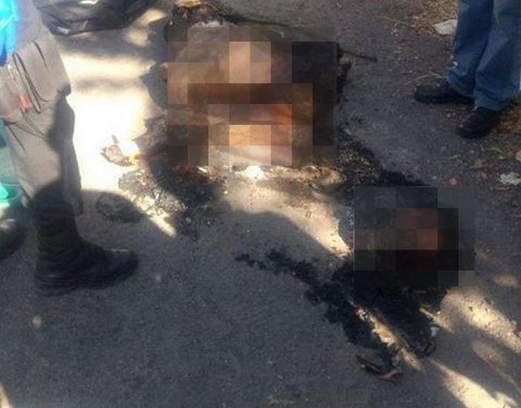 Fotos, Localizan cadáver descuartizado, calcinado y embolsado en Jalisco