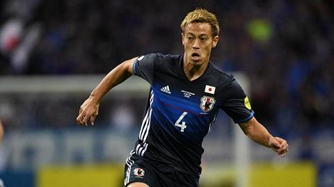 Cầu thủ Honda trong màu áo đội tuyển quốc gia