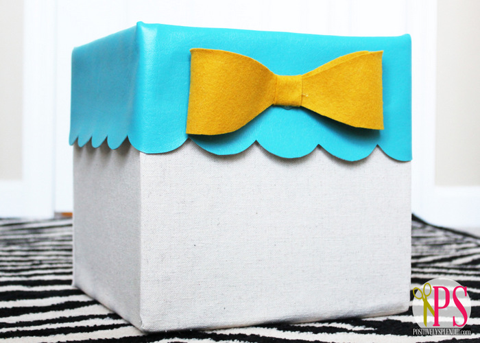 No-Sew Storage Bins from Diaper Boxes - Positively Splendid Crafts Sewing Recipes and Home Decor  sc 1 st  Positively Splendid & No-Sew Storage Bins from Diaper Boxes - Positively Splendid ... Aboutintivar.Com