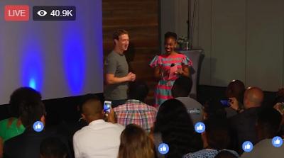 Mark Zuckerberg gushes over Nigerian jollof rice, snail and shrimps