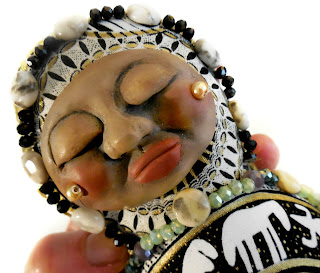 Harnessing the Magic - a Crone Beaded Spirit Doll