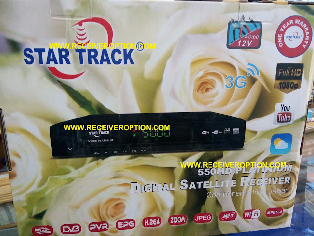 STAR TRACK 550HD PLATINIUM RECEIVER FLASH FILE