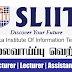 Vacancy In Sri Lanka Institute Of Information Technology