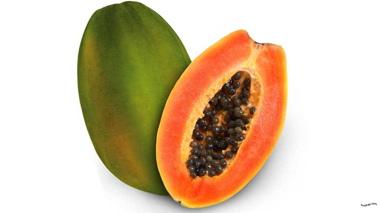 gambar buah pepaya bahasa arab pepaya