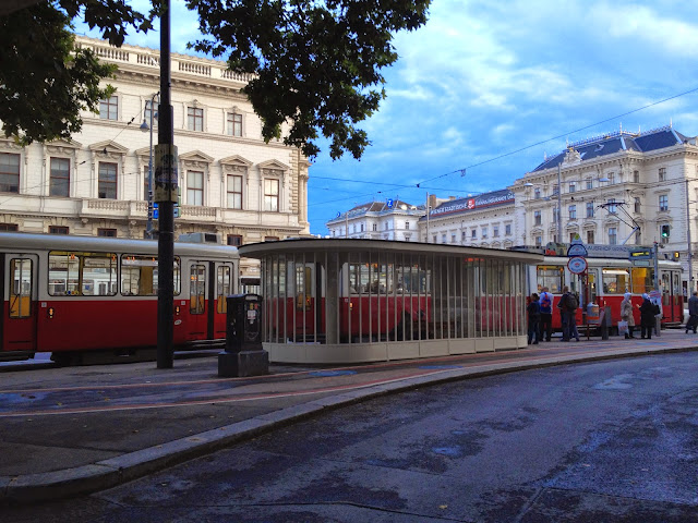 El bonito tranvía de Viena