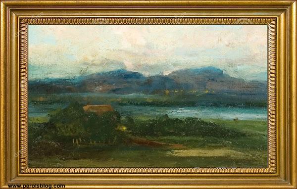 Tableau Gustave Courbet  à Palavas