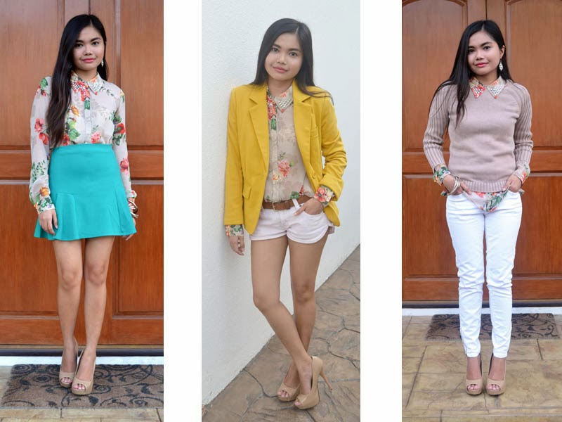 How To Wear A Floral Blouse 32