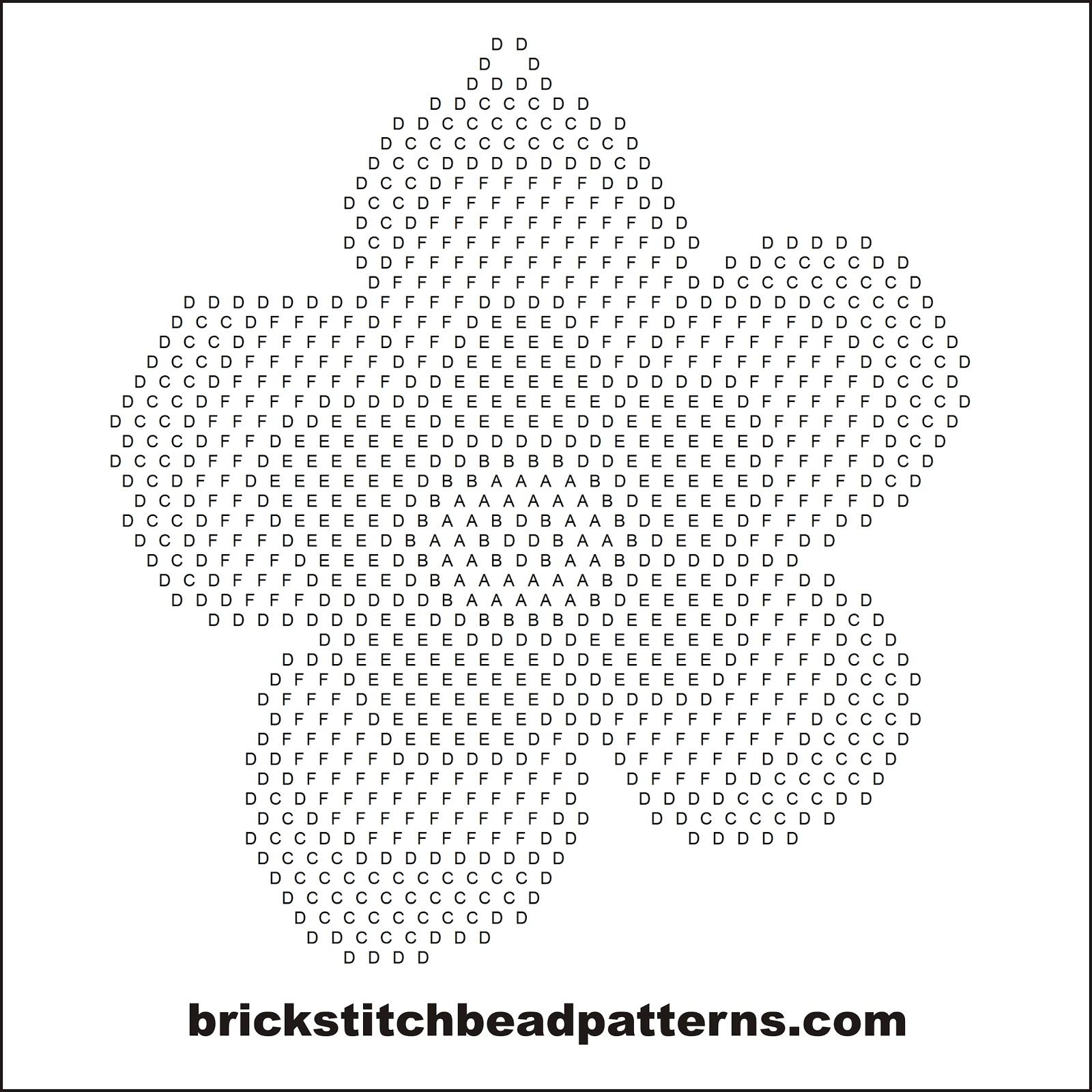 Brick Stitch Bead Patterns Journal: Scallop Daisy Free