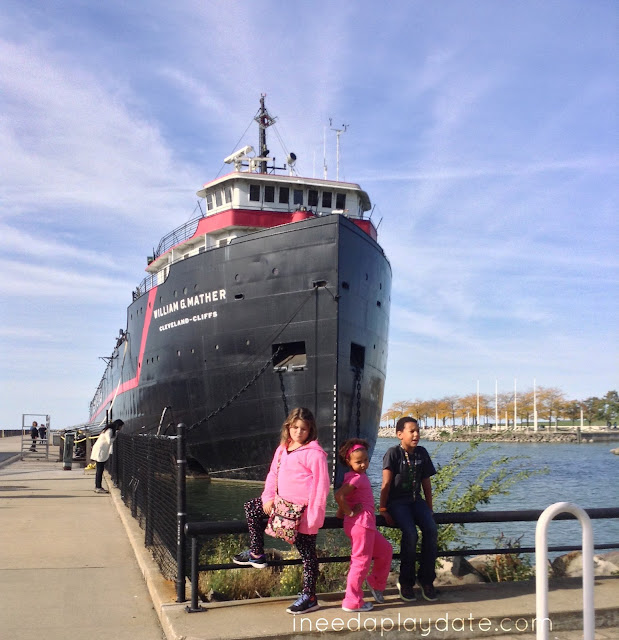 Tour Steamship William G. Mather