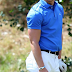 NICK JONAS PLAYS GOLF AT THE MICHAEL JORDAN CELEBRITY INVITATIONAL 2014