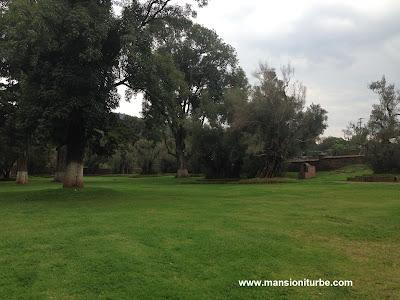 Atrium of the Olives in Tzintzuntzan, Michoacán