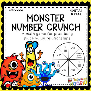 https://www.teacherspayteachers.com/Product/Monster-Number-Crunch-A-Place-Value-Game-2964019