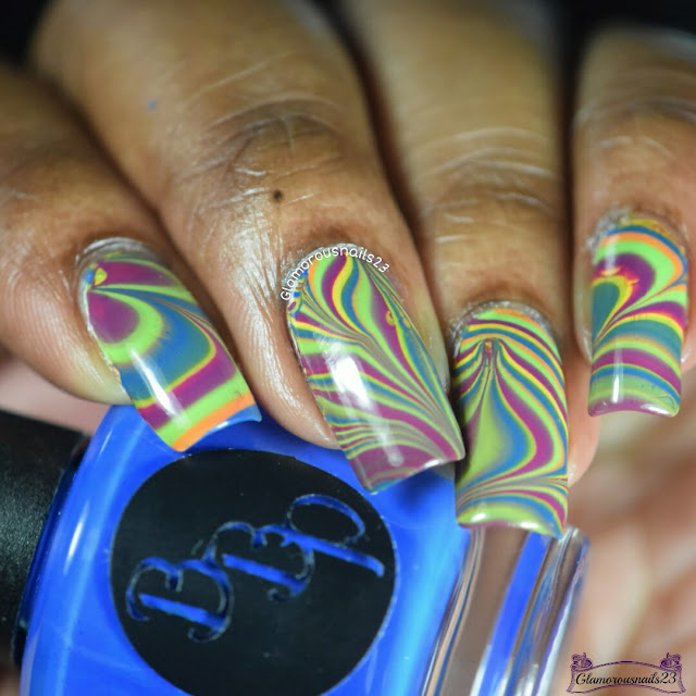 Watermarble Wednesdays Bad Bitch Polish Summer Playlist Cremes