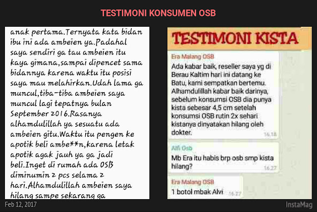 Testimoni OSB
