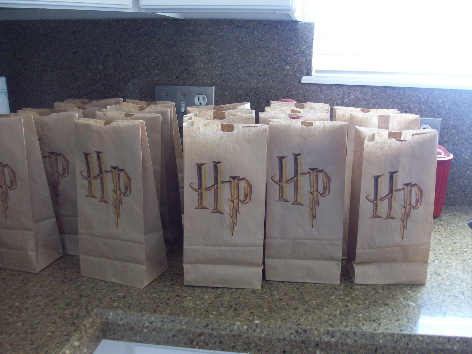 harry potter party goodie bag ideas