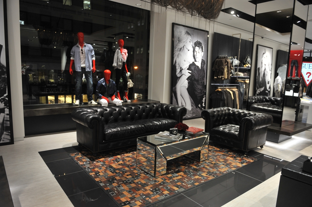 241ac06ec Guess 5th Avenue Preview Store Opening