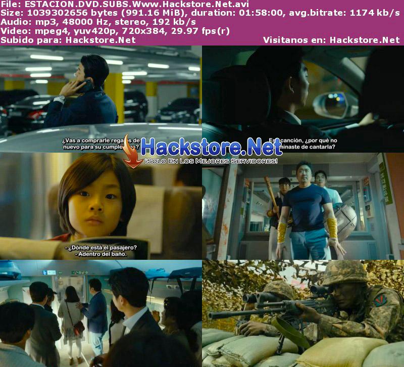 Capturas de Estación Zombie: Tren a Busan (2016) DVDRip Subtitulada