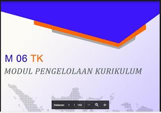 MODUL 01, 02, 03, 04, 05, 06 PKB KEPALA SEKOLAH TK-RA KELOMPOK KOMPETENSI A, B, C, D, E, F TAHUN 2017 Library Pendidikan