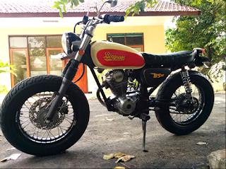 cara modifikasi japstyle motor cb 100