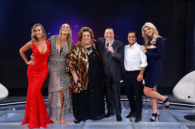 Lola, Ciça, Mamma, Raul, Thammy e Val (Crédito: Rodrigo Belentani/SBT)