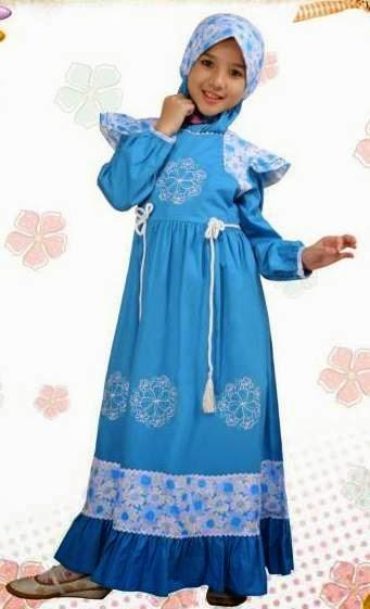 Model Busana Muslim Anak Aini