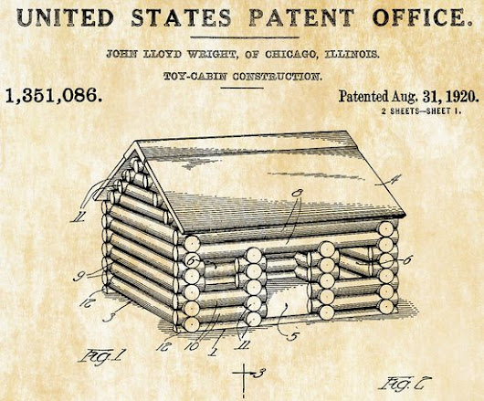 The Patent for Lincoln Logs