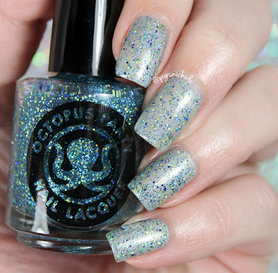 Octopus Party Nail Lacquer Blest Be The Tide That Binds (feat. OPNL Spirit Mint) | Summer 2016