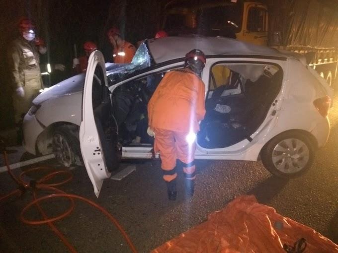 VÍDEO - Colisão frontal deixa três mortos na BR-316, em Timon/MA