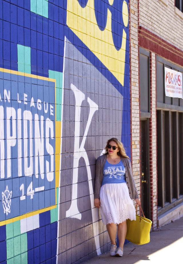 KC Royals wall in kansas city