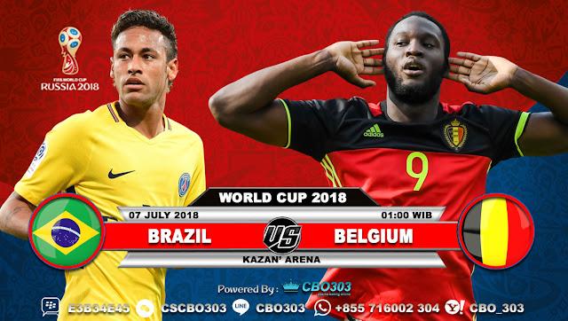 Prediksi Bola Piala Dunia 2018 Brazil VS Belgium 7 July 2018