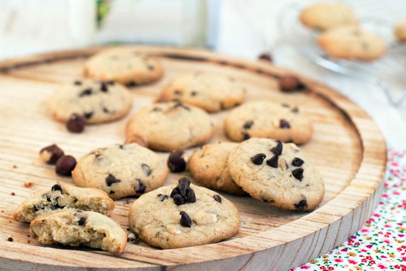 recette Cookies vegan coco et chocolat
