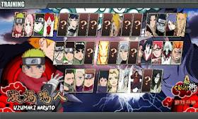 Naruto Shippuden Senki Apk v1.19 New First Edition part 2