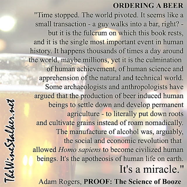 Adam Rogers on ordering a bee, PROOF: The Science of Booze