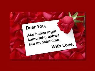 6 Surat Cinta Tulisan Tangan Paling Romantis Saat Ini
