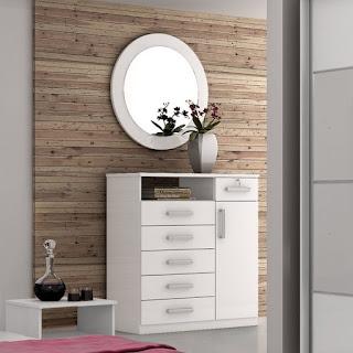 Espelho Redondo 90cm Blog Achados de Decoração