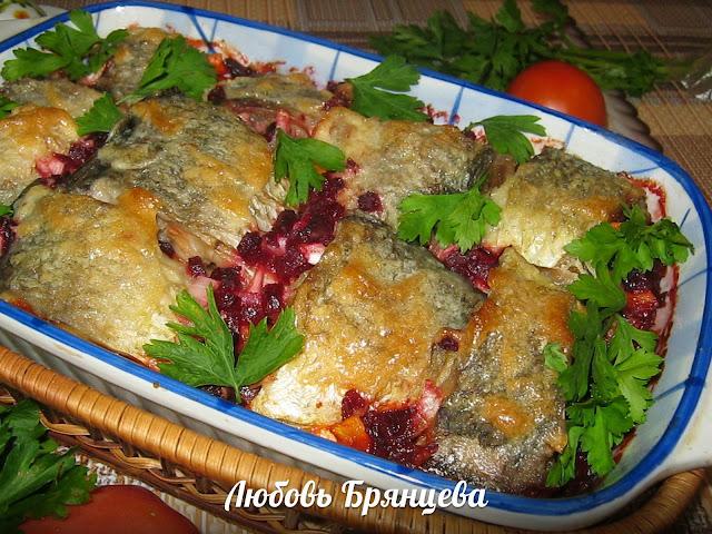 как приготовить рыбу по еврейски